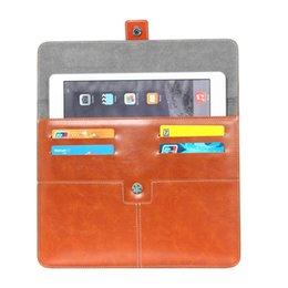 Wholesale Cube 7inch - 40pcs lot Android Robot Leather Case bag Sleeve For 7inch iPad 10 inch Samsung Ainol Sanei Ampe Cube Tablet PC