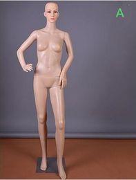 2019 sesso dei modelli sexy Modo sexy all'ingrosso 3 stile PE matrimonio corpo femminile modello puntelli vetrina cosmetologia cucito-manichino per i vestiti B587