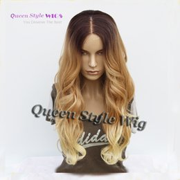 Wholesale Sexy Black Hair Women - Sexy White Women Natural Hairstyle Wig 8A Peruvian Body Wave Synthetic Hair Glueless Lace Front Wigs for Black  White Women