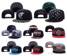 Wholesale Cheap Strap Back Hats - Top Quality Famous Stars And Straps Snapback Caps & Hats Snapbacks Snap Back Hat Men Women Baseball Cap Cheap Sale