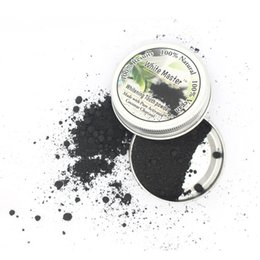 yellow teeth white Promo Codes - Oral Whitening Tooth White Master Bamboo Activated Charcoal Powder Decontamination Tooth Yellow Stain Smoke Tooth Stain Bad Breath Oral Care