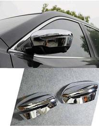 nuova serratura audi Sconti Accessori ABS cromato Side Door specchio retrovisore di copertura Trim auto 2Pcs la misura per Nissan Qashqai 2007 2008 2009 2010 2011 2012 2013
