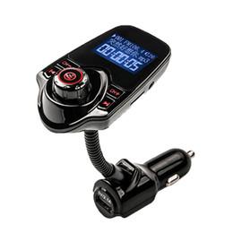 dongle bluetooth smart tv Скидка T10 автомобильный беспроводной MP3 FM-передатчик ЖК-дисплей Bluetooth V3.0+EDR комплект громкой связи поддержка U диск FLAC TF карта DHL OTH339