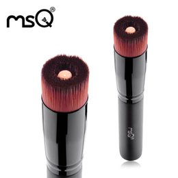 Al por mayor- MSQ Multifunción Líquido Base de maquillaje Brush Pro Powder Brushes Set Kabuki Brush Face Make Up Tool Cosméticos de belleza desde fabricantes