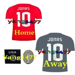 Wholesale Soccer Sports Jerseys - Best quality 17 18 Benfica home away red gray Jerseys 2017 2018 LOPEZ SALVIO RAUL JIMENEZ JONAS Sports Wear Shirts