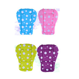 Wholesale Car Umbrella Cover - Wholesale- Baby Stroller seat Cushion Stroller Pad mattresses Pillow Cover Child Carriage Car Umbrella Cart BB Car Thermal Thicken Pad