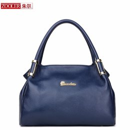 Wholesale Zooler Bags - Wholesale-ZOOLER Brand Fashion women leather handbags 2016 new shoulder bags elegant genuine leather bag Luxury Style bolsa feminina