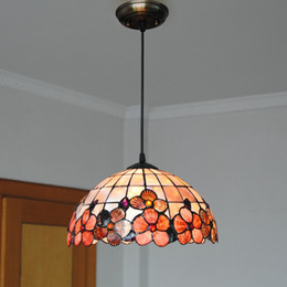 Wholesale Chinese Style Pendant Lights - Creative Southeast Asian rural Chinese style Korean style aisle restaurant balcony bar warm mosaic Chandelier
