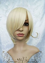 Wholesale Hetalia Wigs - New hot sell Axis Powers Hetalia APH HETALIA NORWAY Short Blonde Wig