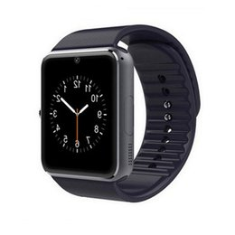Wholesale Home Clock Black - Wearable Devices Smart Watch GT08 Android Wear Clock Smartwatch With Camera SIM Smart Health