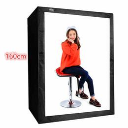 Wholesale Portrait Props - Professional 160cm Photo Tent Suit Fashion Portrait Softboxe Photography Camera Equipment Props Box Photo Studio Articulator Rig