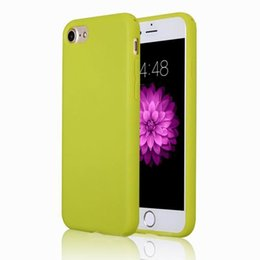 Wholesale Mint Candy Color - Ultra Thin Solid Candy Color Soft TPU Phone Back Case Cover for Iphone 5 6 6splus 7 7plus 8 8plus x