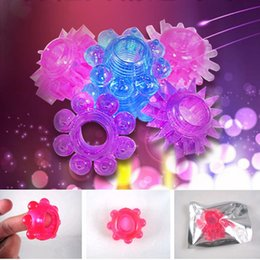 Wholesale Silicon Cockring - Colorful Silicon Cockring Delaying Ejaculation Rings Penis Ring Flexible Glue Cock Ring Sex Toys for Men