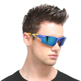 Wholesale Mountain Bike Riding Glasses - Men Fashion Sports Sunglasses Polarized Outdoor Cycling Bicycle Sun Glasses Mountain Bike Riding Eyewear Brand Cool Oculos UV400 Accessories