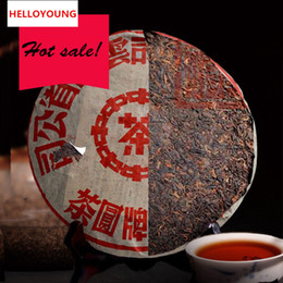 Wholesale chinese health food - Top grade Chinese yunnan original Puer Tea,357g health care tea ripe pu er puerh green food