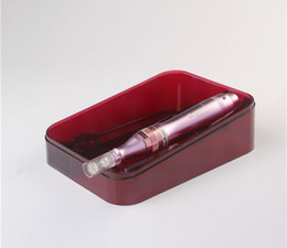 Deutschland Dermapen Permanent Make Up Microneedling Stift Derma Pen Skin Pen 5 Geschwindigkeiten Elektrische Microneedle Roller Mit 2 STÜCKE Nadelpatrone Versorgung