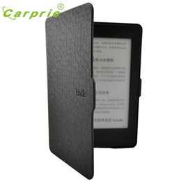 Wholesale Paperwhite Cases - Wholesale- CARPRIE Tablet Case For Kindle Paperwhite Smart Ultra Slim Magnetic Case Cover For Kindle Paperwhite+Screen Protector Feb3