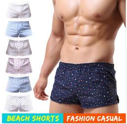 Wholesale Printed Boxers - Men Underwear Boxer Shorts Trunks Slacks Cotton Men Cueca Boxer Shorts Underwear Men Printed Shorts Home Underpants