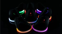 Wholesale Shoes Gear - LED Luminous Shoe Clip Night Light Running Gear Shoe Lights Safety Warning LED Bright Flash Light For Running Cycling Bike Christmas Light