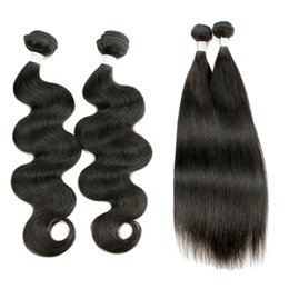 Wholesale soft wave brazilian hair weave - Recommend Brazilian Body Wave Virgin Hair Weaves 3 Bundles Natural Brown Color Unprocessed Human Hair Extensions Full Soft 10-26 inch