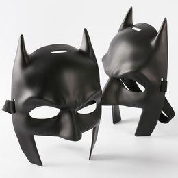 Wholesale High Quality Batman Mask - Batman v Superman Mask High Quality Batman Mask Mardi Gras Party Mask Costume Decoration Costume Masquerade Theme (Black)Child Size