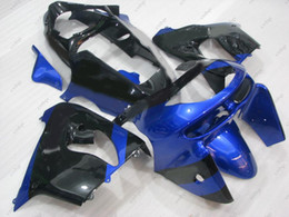 1999 zx9r carenagens on-line-Kits de corpo Zx9r 1999 Carenagens de plástico para Kawasaki Zx9r 99 Kits de corpo inteiro preto azul Zx-9r 1998 1998 - 1999