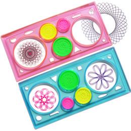 Canada Règle magique magique de fleur définie règle multifonction de modèle de dessin multifonction de cadeau de papeterie créative pour enfants Offre