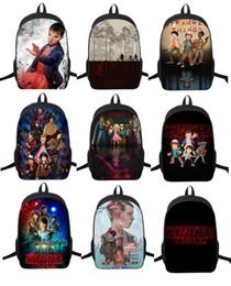 Wholesale Silk Backpacks - Wholesale- Stranger Things Backpack For Teenage Children School Bags Boy Girls School Backpacks Kids Schoolbag Stranger Things Student Bag