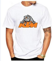 Wholesale Casual T Shirts Cheap - 2017 men KTM T Shirt Short Sleeve Clothes New Cheap Cotton Funny T Shirts S-XXXL df