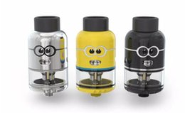 Wholesale Minions Dhl - Authentic Ample Pixy RDTA Minion Tank 4.5ml Tank with 810 Drip Tip and 510 Thread Large air Hole Free DHL shipping