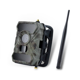 Wholesale Wireless Camera Sd Card - 3g Wireless Trail Camera S880G 12MP AT&T Invisible IR Deer Camera with Night Vision.1080 HD Trail Cameras for Deer Hunting
