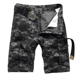 Wholesale 6xl Tactical - HOT 2017 Summer Mens Cotton Straight Camouflage Cargo Short Trousers Men Military Jungle Camo Tactical Shorts Plus Size 28-38