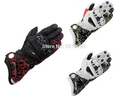 Wholesale Gloves Drive - Wholesale- HOT Sale Brand New Alpine Genuine Leather Motorcycle gloves gp pro Full Finger Driving Motocross luva motorcycle gloves
