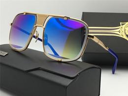 Wholesale Male Fashion Sunglasses - 2017 new fashion brand designer male female men women sunglasses high quality sun glasses with box shishangmac5