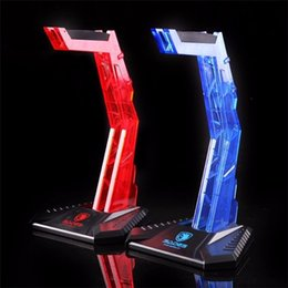 Porte-casque en Ligne-Fashion Sades Gaming Acrylic Headphone Stand Headset Hanger Shelf Rack Ecouteur Display Holder pour casque Gamer