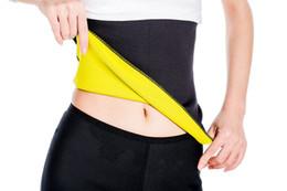 Wholesale Hot Shapers For Men - Hot Shapers Hot Belt Hot Thermo Sweat Neoprene Shapers Slimming Belt Waist Cincher Girdle For Weight Loss Women & Men
