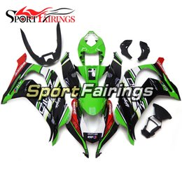 Wholesale Plastic Kit Motorcycle - New Arrival Complete Motorcycle Fairings For Kawasaki ZX10R ZX-10R 16 Year 2016 Injection ABS Plastics Fairing Kits Green Black Full Covers