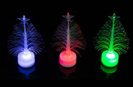 Wholesale Wholesale Fiber Optic Lighting Supply - Top quality 2017 new Hot sale new year LED colors Christmas tree gifts fiber optic light Christmas hat activity supplies