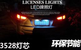 Pas endommagé Plaque D'immatriculation 12-16V LED Éclairage 24p 3258 LED PURE Blanc Pour BMW E39 E46 CSL E60 E82 E88 E90 X3 X5 X6 F11 F30 Boucle Fixer ? partir de fabricateur