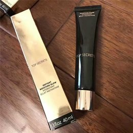 Wholesale Remove Dark Spot Cream - High quality Top Secrets Primer cream Instant Moisture Glow Hydratant Eclat Instantane Foundation BB cream famous brand cosmetic 40ML