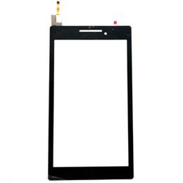 Lenovo a7 touch en Ligne-Vente en gros - Original 7 pouces écran tactile Digitizer remplacement pour Lenovo TAB 2 A7-10 A7-10F Tablet PC livraison gratuite