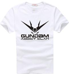 Wholesale Freedom T Shirts - Gundam Freedom Addict Clan Fashion T-shirt Cosplay Happy Yohe