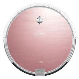Wholesale Remote Robots - Hot Sale Original 2 in 1 ILIFE X620 Smart Robot Vacuum Cleaner Cleaning Appliances 450ML Water Tank Wet Clean free shipping 0716003