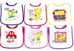 Tamanho do babador do bebê on-line-Novo tamanho grande crianças babadores Bordado Toalha de pano bib toalha de algodão à prova d 'água / bebê e crianças saliva toalha de bebê babadores