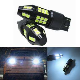 Wholesale Universal Car Side Lamps - T20 7440 7443 40w 3030 40SMD LED 1000LM auto car Fog Light DRL Reverse Braking Turn Car Lamp DC12-24V white daylight