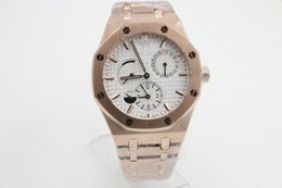 Wholesale Promotion Rose Gold - Rose gold case wholesale 43mm Promotion automatic cheap fashion new brand men watch stainless steel wristwatch men's Watches