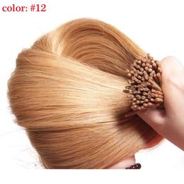 Wholesale Cheap Packs Human Hair - Cheap Brazilian Virgin Hair 0.5g s,100s pack I Tip Hair Extension Straight Human Hair Extensions I Tips Stick Malaysian Silky Straight Hair