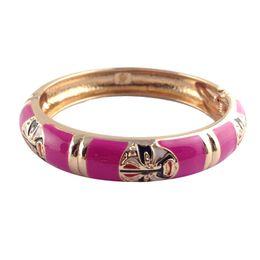 Wholesale White Enamel Vintage Ring - Bracelet Beijing opera style Bracelet Vintage Jewelry Fashion Bangle Classic Accessories for Women special Jewelry Z040