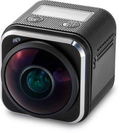 "Wholesale Vr Sensor - OV4689 Sensor 270 degree 6 Glass wide angle lens 0.82"" OLED Display 4k Waterproof Sport Action Camera 360 degrees VR Panoramic Camera"