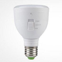Wholesale Types Led Flashlight Bulbs - Led light LED emergency bulb 5w matte type rechargeable LED bulb retractable flashlight energy saving free shipping